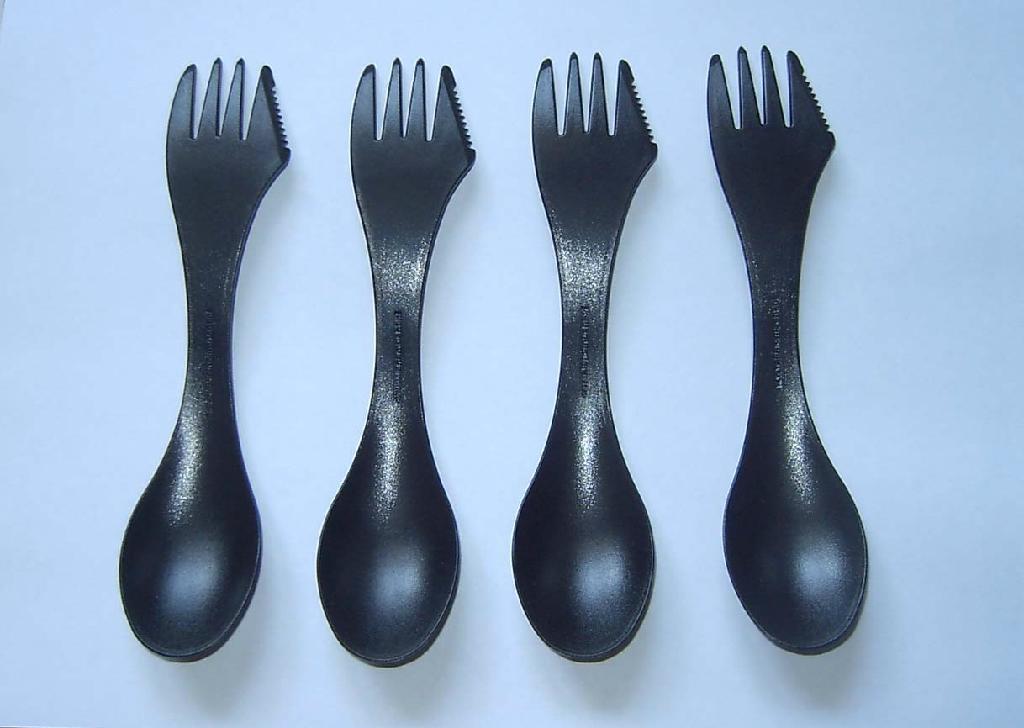 spork plastic spoon 2
