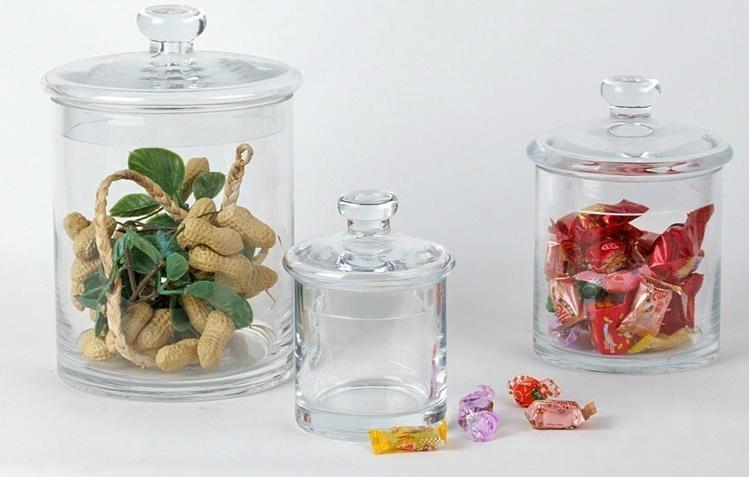 Finest Candy Glass Jars - Glass Designs PB52