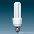U-shaped CFLs compact flourescent energy saving lamp/bulbs