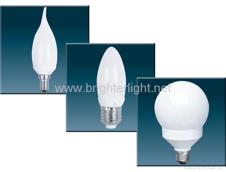 Globe/candle CFLs,Globe/candle lamps/bulbs/energy saving