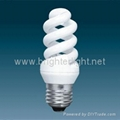 Full spiral CFLs compact flourescent energy saving lamps