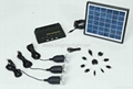 4W water proof solar home power system