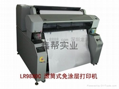 卷材不干胶印刷机