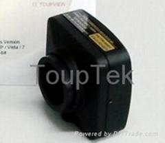 UCMOS05100KPA USB Microscope Camera w/ Eyepiece Adaptor