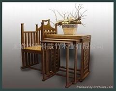 strand woven bamboo furniture