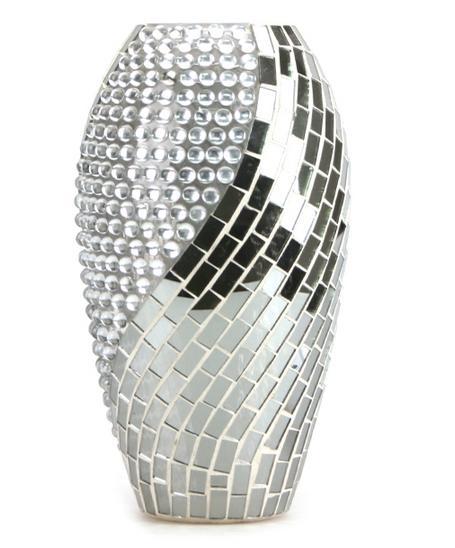 Mosaic Glass Flower Vases Yc C013 China Manufacturer Glassware