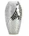 Mosaic Glass Flower Vases 5