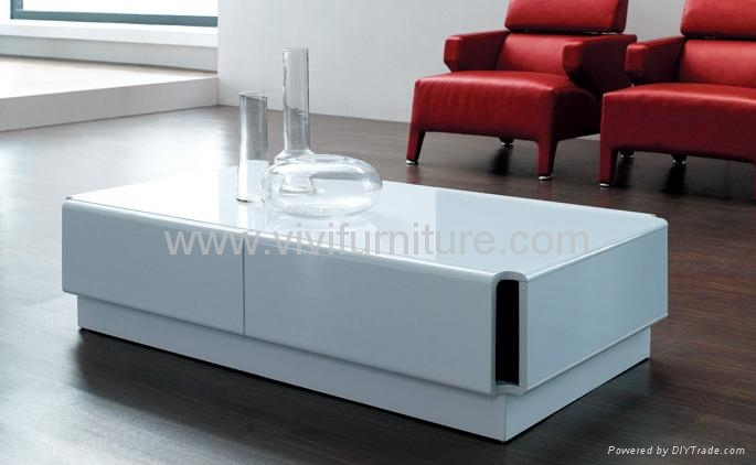 living room furniture white gloss modern white gloss coffee table ca513 vivi furniture 22798