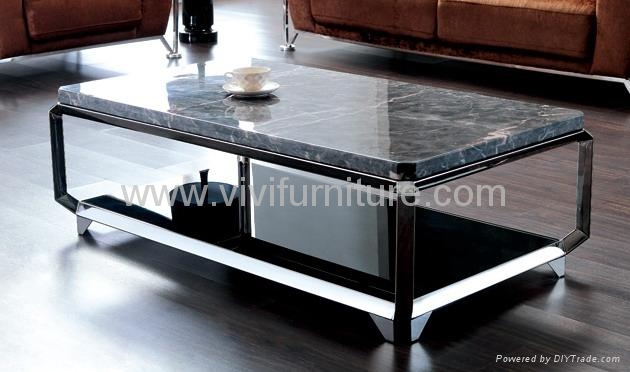 Modern Marble Coffee Table Ca514 Vivi Furniture China