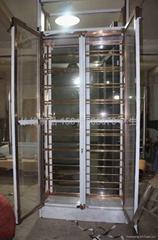 不锈钢红酒恒温展示柜架