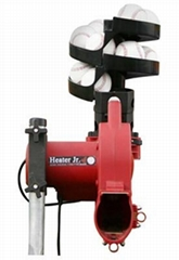Heater Jr. Baseball Pitching Machine with Automatic Feeder