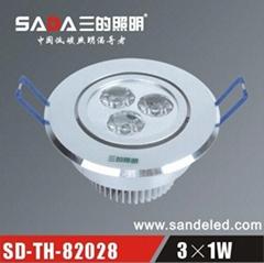 LED大功率天花灯