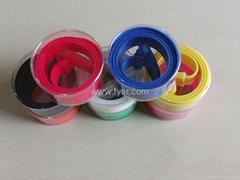 fashion silicone belt
