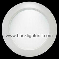 Laser light guide plate for LED Ceiling Light round/square panel