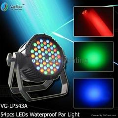 54pcs LEDs RGB Outdoor Par Light