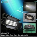 48pcs LEDs Cold Color LEDs Sky/Ground Stage Curtain Light