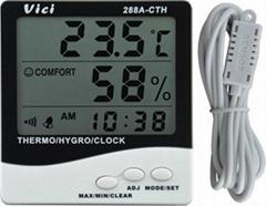 Indoor/outdoor digital thermo-hygrometer
