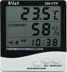 Indoor digital thermo-hygrometer