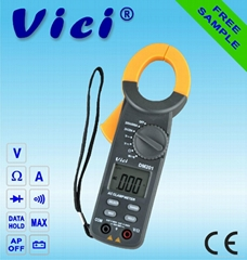 3 1/2 bit digital clamp multimeter