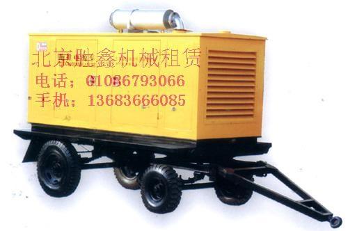 北京租賃低噪音發電機 1