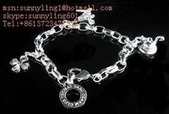 Charm bracelet silver bracelet 925
