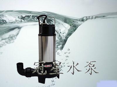 WQ(QW)无堵塞立式潜水排污泵 1