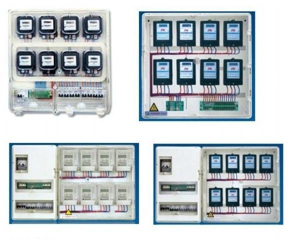德利透明PC電表箱 2