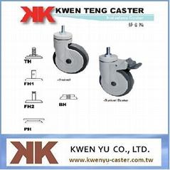 Noiseless Caster / medical caster / Caster