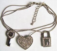 Charm Bracelet with stones