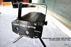 RGB Kaleidoscope Animation Laser Stage Lighting