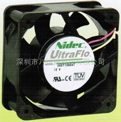 日本电产Nidec散热风扇60*60*25mm
