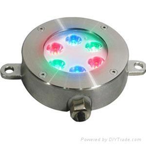LED underwater light(6x1W) 1