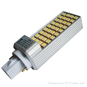 PLC G24 LED downlight 8W 1