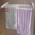 Retractable hanging rod racks 1