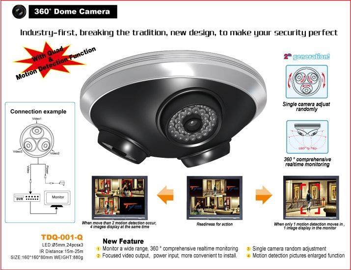360 176 Dome Camera Product Catalog China Tyjoon