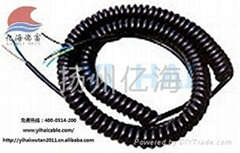 供應進口路面推平機平整控制信號傳輸用螺旋電纜