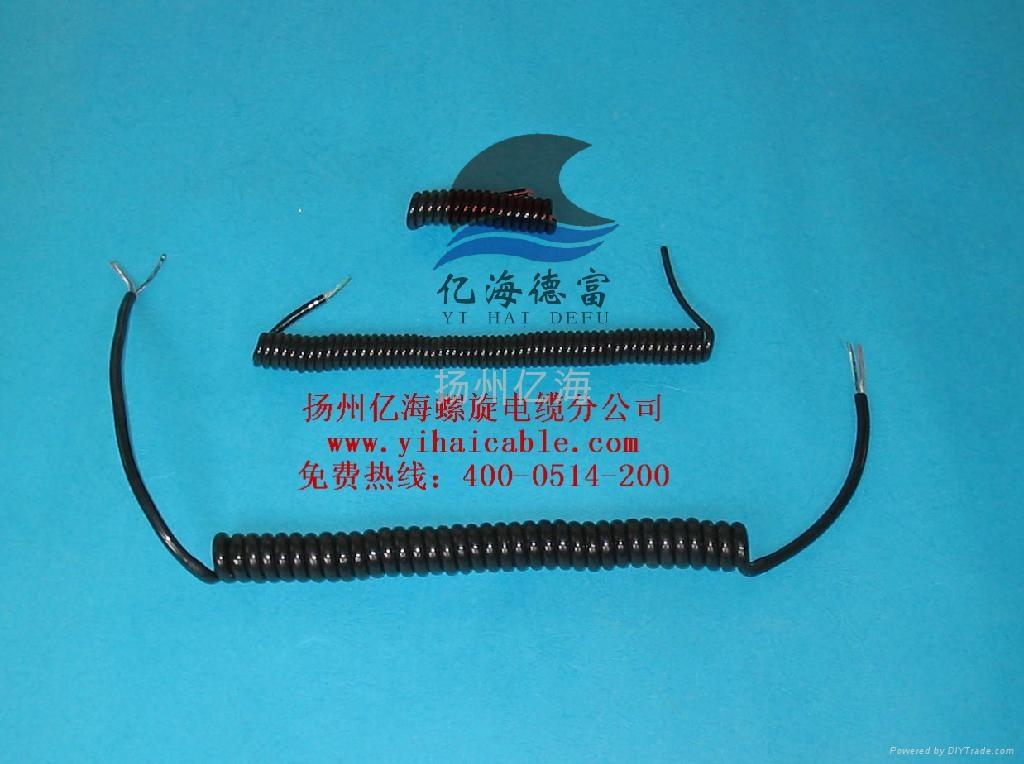 供應小螺旋電源電纜 1