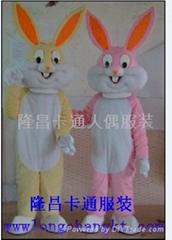 卡通服装定做兔子