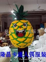 深圳卡通服装水果服装菠萝