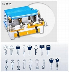 GL 368A key machine locksmith tool/key copy machine