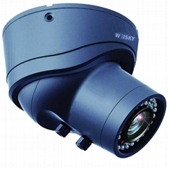 650TVL Metal IR Waterproof Dome Camera Manual Zoom Lens