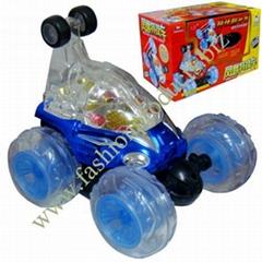 Remote Control Stunt Rolling Car