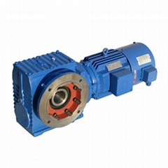S Helical-Worm gearbox