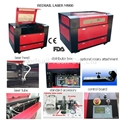 Laser Engraving & Cutting Machine M900 for Leather Engraving from Redsail