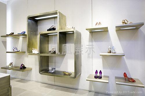 皮鞋展厅效果图