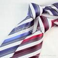 100% Polyester Wove Necktie/Stripe Necktie