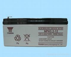 yuasa汤浅电池NPH3.2-12 铅酸蓄电池