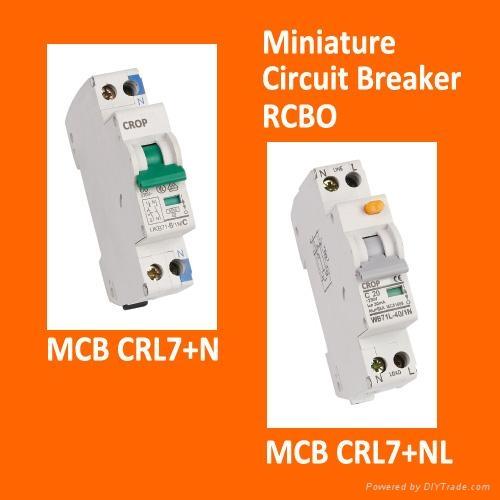 miniature circuit breaker mcb rcbo crop (china manufacturer