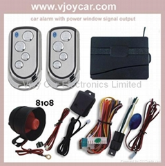 Smart car alarm system w