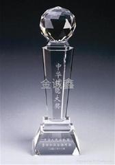 东莞工厂订做水晶纪念品